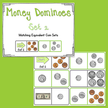 Differentiated Money Dominoes