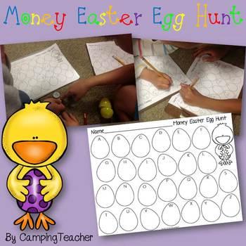 Money Easter Egg Hunt Freebie!