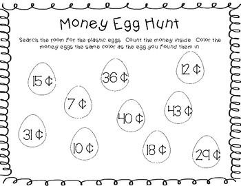 Money Egg Hunt Game