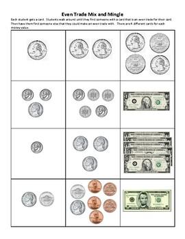 Money Even Trade Game