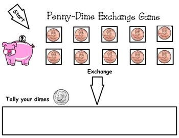 Money Exchange Mat and Game