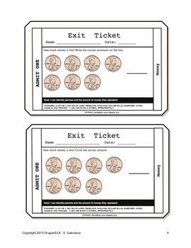 Money Exit Tickets