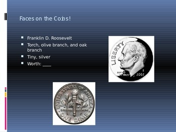 Money: Faces, Value, & Coin Practice!