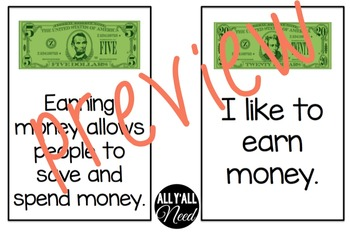 Money: Fact and Opinion
