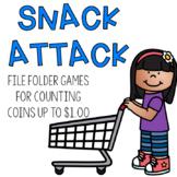 Money File Folder Games:  Coins Under $1.00