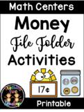 Money File Folder Math Center Activities