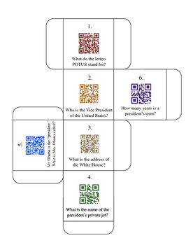 The White House QR Code activity