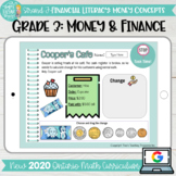 Money & Finance Grade 3 2020 Ontario Math- DIGITAL Google