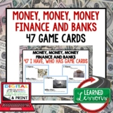 Money, Finance and Banks GAME CARDS Economic and Free Enterprise)