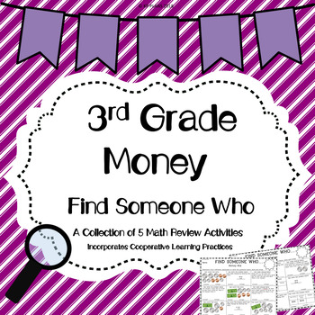 Money Find Someone Who Activity