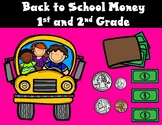 Money:  First and Second Grade Coins and Dollars