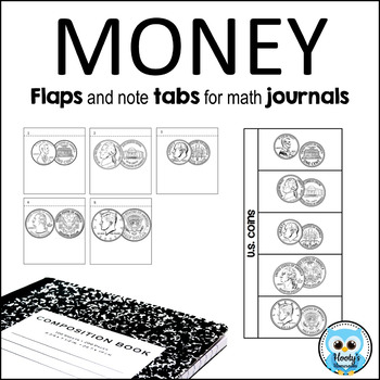 Money - Flaps and Tabs for Interactive Notebooks