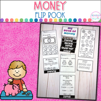 Money Flip Book- Identifying Coins and Dollar