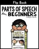 Parts of Speech Flip Book for Beginners - Nouns, Verbs, Adjectives