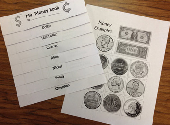Money Foldable: Parts of A Dollar