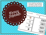 Money Foldables / Money Interactive Notebook Piece / Center