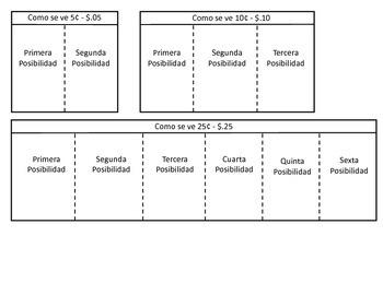 Money Foldables in Spanish
