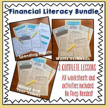 Money Foundations: Financial Literacy BUNDLE