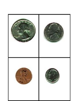 Money Four Square Game Board 2