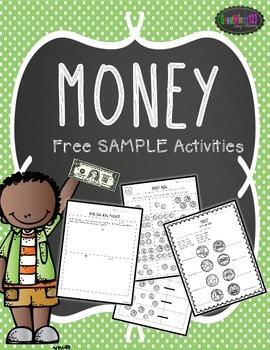 Money - Free Sample Activities