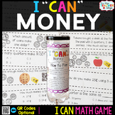 Money Game for Math Centers - I CAN Math Games