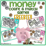 Money Game - Count & Match FREEBIE!