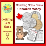 Canadian Money Game - Counting Coins