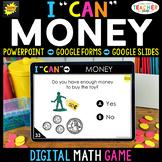 Money Game | DIGITAL Math Centers