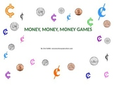 Money Games - 5 Printable Money Games with Recording Sheets
