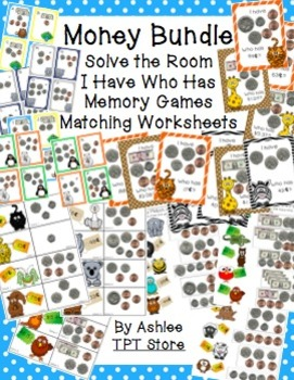 Money Games & Activities Bundle
