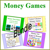 Money Games Bundle - Board Games for Math Centers and Lear