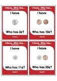 Money Games I Have...Who Has...Money (Basic)