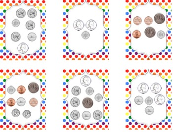 Money Games for Math Centers
