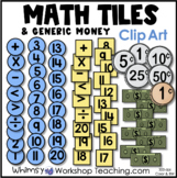 Money: Generic Coins and Bills Clip Art - Whimsy Workshop Teaching