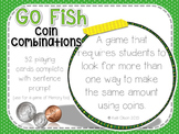 Money Go Fish/Memory Game Cards
