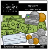 Money Clipart {A Hughes Design}