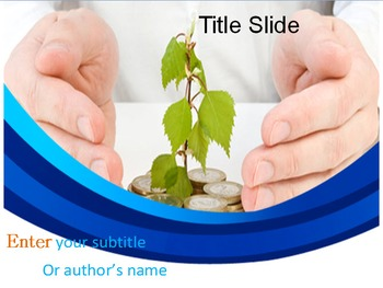 Money Growth PowerPoint Template
