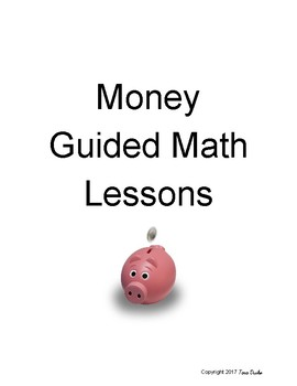 Money Guided Math Lessons