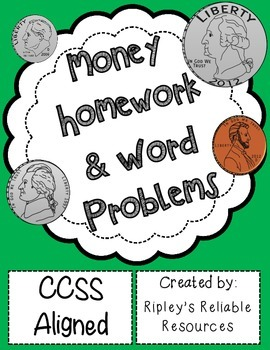 Money Homework & Word Problems