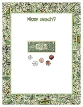 Money ~ How Much? Dollar Bills and Coins - Addition to $9.99 - 100 Questions