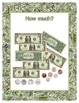 Money ~ How Much? Dollar Bills and Coins - Addition to $9.