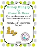 Money Hungry by Sharon G. Flake - Pamphlet Presentation Project