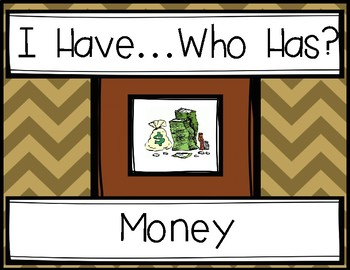 Money - I Have, Who Has? Game