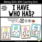 Money I Have Who Has Game with Counting Dots
