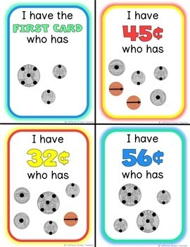 Touch Money and Coin Counting Game with Counting Dots