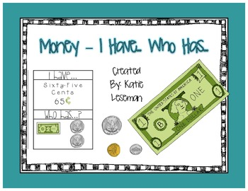 Money - I Have...Who H-as...
