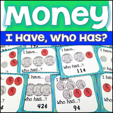 Money Games for 2nd Grade   Counting Money Game/I Have, Wh