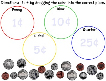 Money -- Identifying and Counting Coins