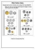 Money Interactive workbook/notebook activities