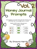 Money Journal Math Prompts Vol. 2